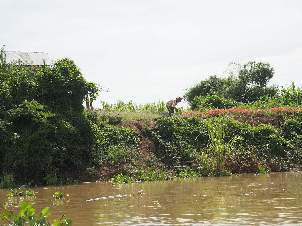 berges rivière Sanker