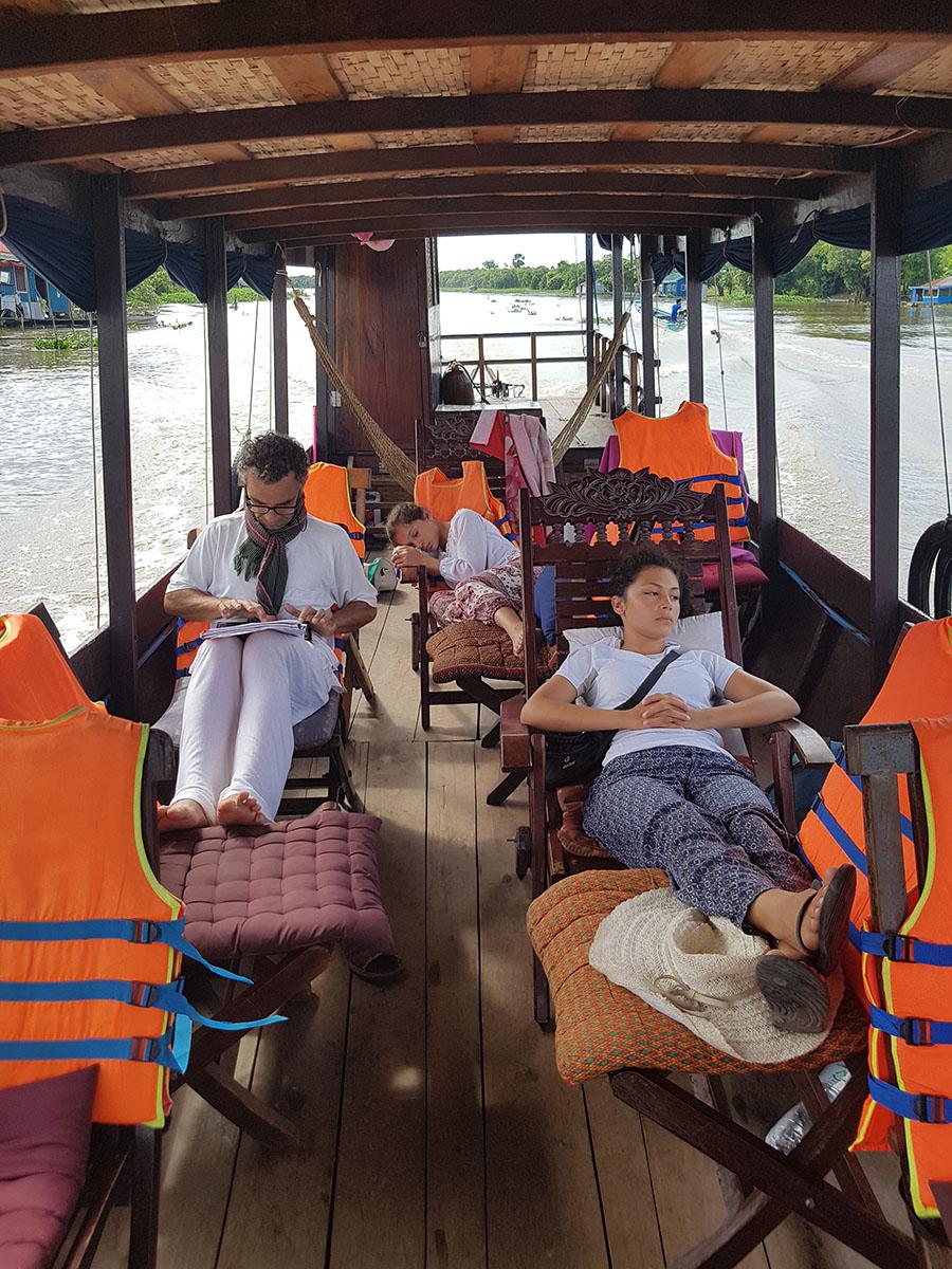 embarcation rivière Sanker