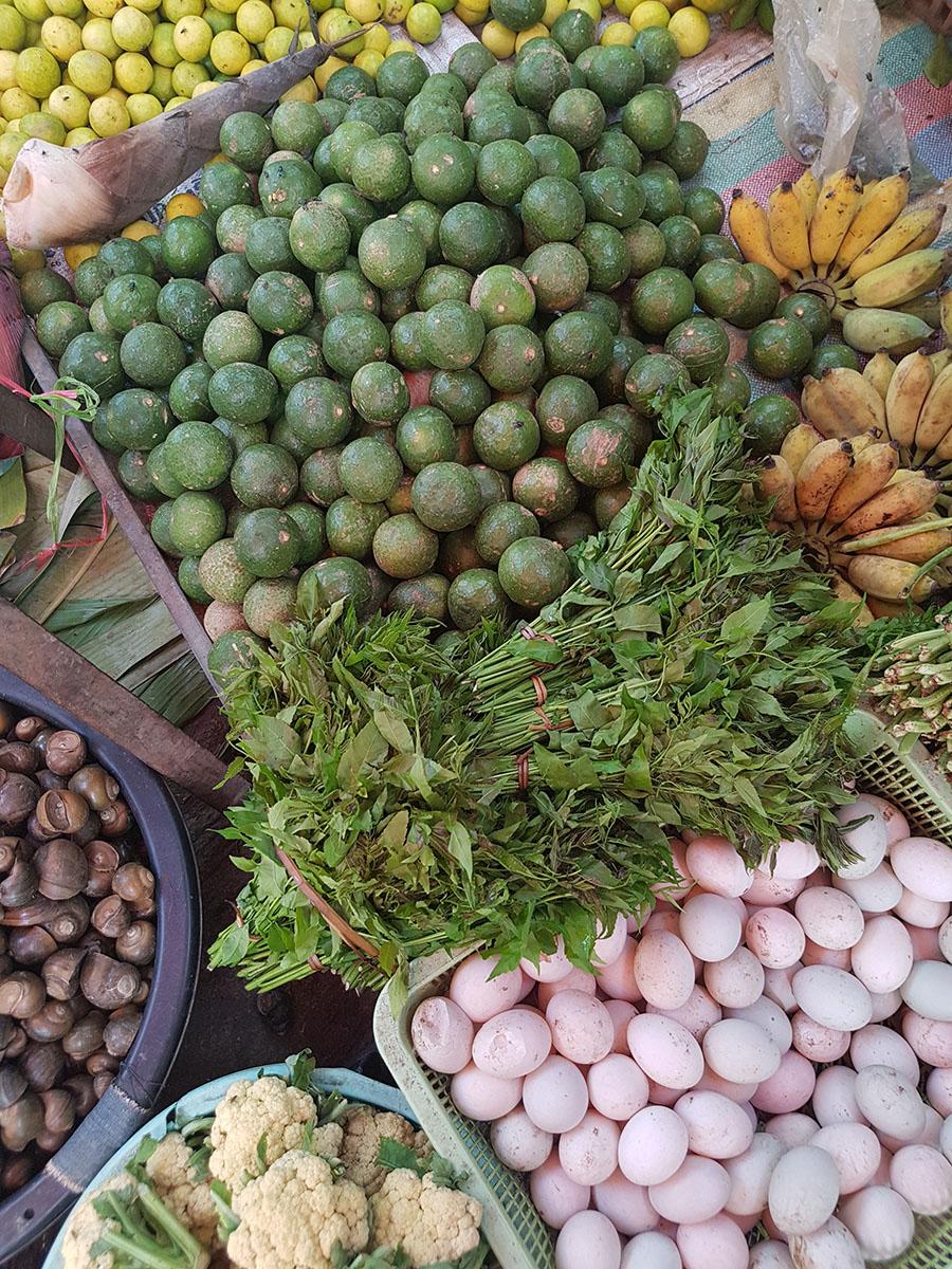légumes marché battambang