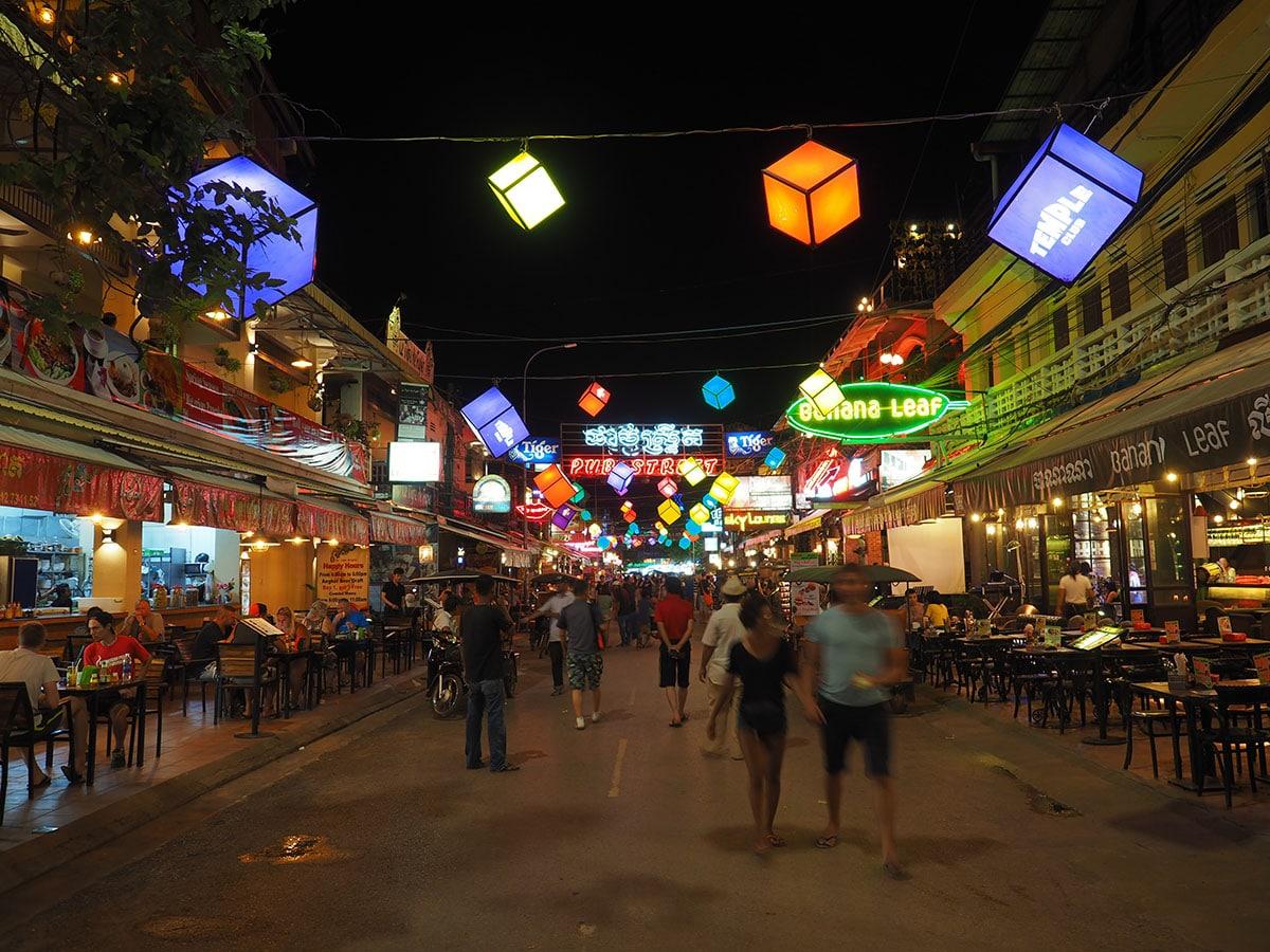 rue de Siem reap