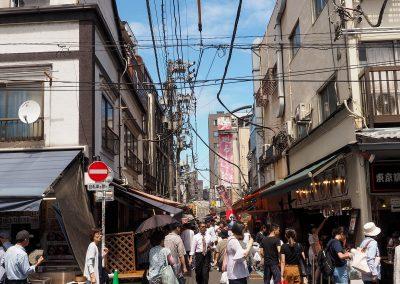 Entrée du Marché aux poissons de Tsukiji